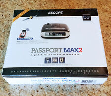 Escort PASSPORT MAX2 HD Radar Laser Detector Bluetooth GPS MAX 2 II - NEW