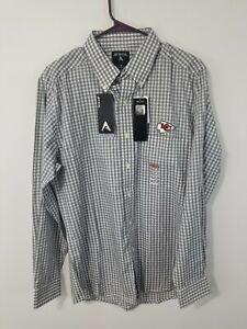 Men's Kansas City Chiefs Antigua Dynasty Woven Long Sleeve Shirt Medium