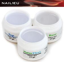 PROFILINE Nagelgel-Set für schwache Nägel Aufbaugel Haftgel Versiegelungsel 3*7m