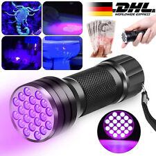 UV Lampe LED Taschenlampe nm Zoom Scorpion Bernstein Schwarzlicht