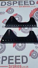 CORSA IN LEGA SEAT Mount staffe di montaggio laterale 5 mm nero, Universal