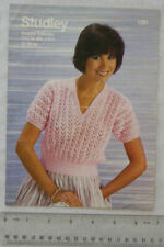 Vintage: Studley 1201 jumpers, 4 ply