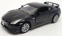 Kinsmart 1/36 Scale KT5340 - 2009 Nissan GTR R35 Pull Back & Go - Black