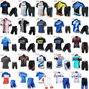 Men's Cycling Short Sleeves jersey shorts sets Summer ciclismo ropa hombre N1