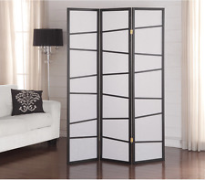 Folding Screen Room Divider 3 Panel Privacy Wood Home Wooden Bedroom Dressing