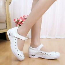 Chic  Nurse Shoes Anti-slip Shoes Ladies Medical Staff Air Cushion Hollow Sandal
