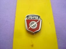 FORD PICKUP TRUCK CREST EMBLEM TIE TAC   LAPEL PIN  HATPIN CHROME  COLLECTORS