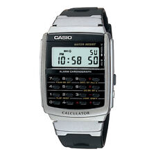 Casio CA56-1, 8-Digit Calculator Watch, Resin Band, Day/Date, Alarm, Chrono