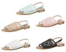 Damen-Sandalen mit kleinem Absatz (kleiner als 3 cm) Synthetik