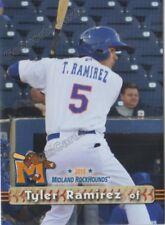 2018 Midland RockHounds Tyler Ramirez RC Rookie Oakland Athletics