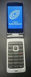 ZTE Cymbal T - Z353VL - 8GB - Black (TracFrone) Android Flip Phone Great shape!