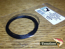 Black Hareline Senyo's Intruder Trailer Hook Wire Fly Tying Materials