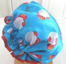 Elmo CHILD  Satin SHOWER CAP TOO CUTE WATER PROOF LINING