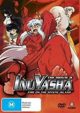 Inuyasha Movie 4 - Fire on the Mystic Island DVD NEW & SEALED  FREE POST
