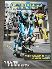 SDCC 2010 TRANSFORMERS SKYBURST POWER CORE COMBINERS POSTER