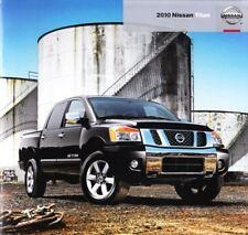 2010 10 Nissan Titan original sales brochure Mint
