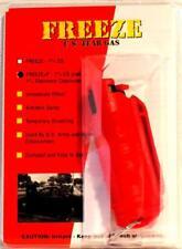 Freeze +P Pepper Spray - 1/2 oz Stream - Red Hardshell Keychain