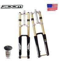 ZOOM DH680 MTB Bike Suspension Fork 26er 180mm Thru Axle Disc Coil Spring 3680g