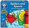 Orchard Toys 360 Spiders & Spouts Mini Game Kids Children Toddler Age 3 Years+