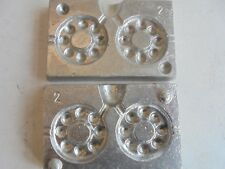 lead weight watch lead mould 110G-142G  2 in 1 mould makes 2 leads.