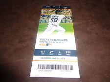 Detroit Tigers~2014 TICKET STUB VS RANGERS 5/24/14~ MLB DEBUT Corey Knebel
