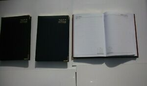 2022 A5 Week to View or Day A Page Leatherette Soft Cover Executive Stitched