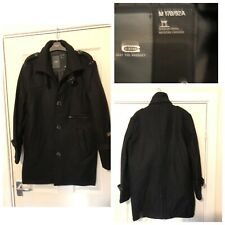 G Star Raw Wool Blend Black Coat Women Size Medium M New Without Tags (A665)