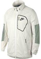 Nike sz S  Men's Sportswear AV WINDBREAKER 15 Jacket  NEW $80  885929-072 Bone