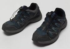Men's Salomon XA COMP 7 WP Waterproof Low Trail Hiking Navy Blue Shoes Size US 9