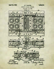 Doughnut Donut Patent Poster Art Print 11x14 Machine Maker Cutter Shop PAT130
