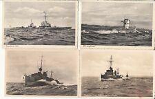 FP 2.WK 6 AK verschiedene Kriegsschiffe ungelaufen