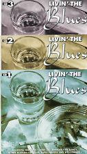 3 CDs++V. A. - LIVIN' THE BLUES++1995++gut. Zust.++B.B. King,J.Mayall,J.L.Hooker