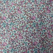 1.13m x 1.23m Liberty Prints Tana Lawn 'Eloise' Cotton Dress Crafts Fabric Pink