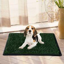 PawHut D07-006-NEW Indoor Pet Dog Toilet - Green/Black