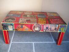 Mangoholz Couchtisch mit 2 Schubladen  Shabby Chic Unikat Gutmann Factory