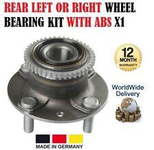 Para Mazda 323 MX-3 89-04 Trasero Izquierdo o Derecho Kit Rodamiento Rueda con