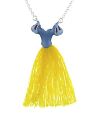 "Disney Park Authentic✿Princess Tassel Dress 18"" Necklace✿Ball Gown Snow White"