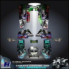 Yamaha Banshee 350 graphics kit sticker decals atv