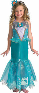Disney Storybook Ariel Prestige Toddler/Child Girls Party Costume Fancy Dress Up