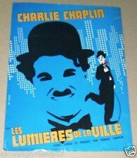 Les Lumières de la ville, Limelight (Charlie Chaplin) French Movie Flyer 70s