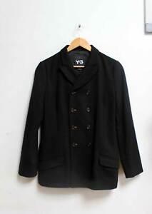 Y3 Yohji Yamamoto Adidas Taylored Jacket Size Medium Black