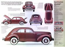 1940 1941 Graham Hollywood Supercharged 281 ci Info/Specs/photo 2 pages 23x8