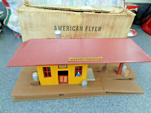 American Flyer / Mini Craft 1953 #274 Harbor Junction Freight Station Ex. Cond.