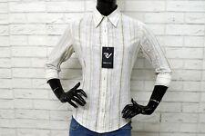 Camicia MARLBORO CLASSICS Donna Taglia M Maglia Shirt Polo Slim PARI AL NUOVO