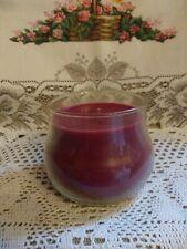 Longaberger Warm Apple Pie Short Jar Candle