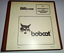 Bobcat 853 853H Skid Steer Loader Service Shop Repair Workshop Manual Original!