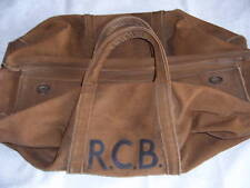 64f514e67cd0  COLLECT ONLY  GENUINE VTG WW2 1940 s BRITISH ARMY LARGE CANVAS MILITARY  KIT BAG