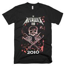METALLICA Black Fan Club 2010 RARE ORIGINAL T-Shirt