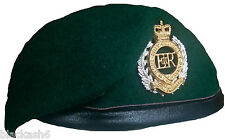 Royal Engineers Commando Beret & Cap Badge  NEW