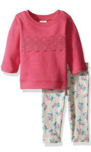 Carter's Baby Girls' 2 Pc Playwear Sets 6m